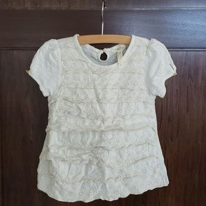 Matilda Jane Whipped Cream Top sz 6